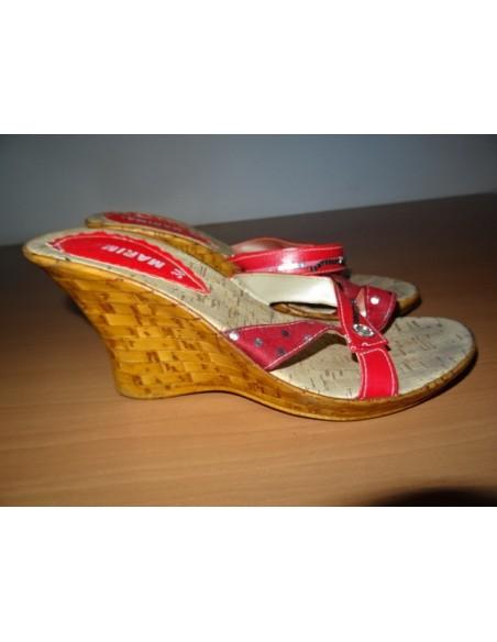 Papuci dama  cu talpa  inalta