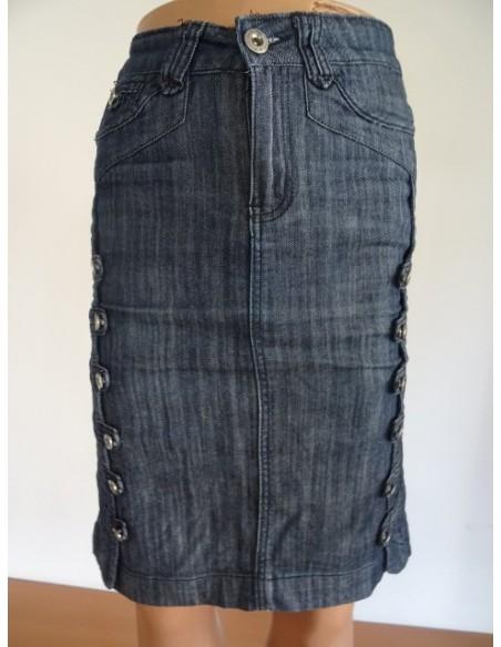 Fusta jeans DANPAISI