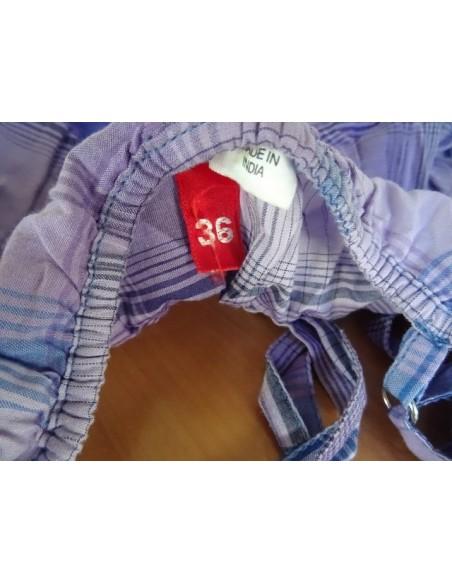 Bluza in nuante de mov cu bretele