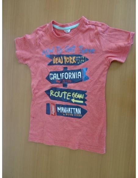 Tricou pentru fetite cu imprimeuri