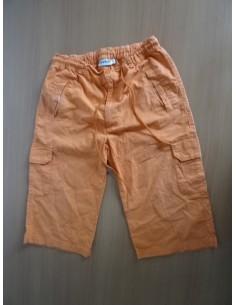 Pantaloni copii VOLCANIKO portocalii cu elastic