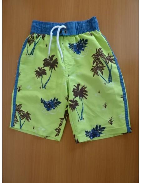 Pantaloni scurti cu palmieri pentru copii