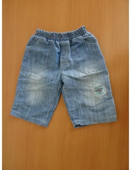 Pantaloni treisferturi cu buzunare
