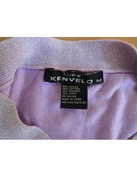Bluza Kenvelo fara maneci cu sclipici