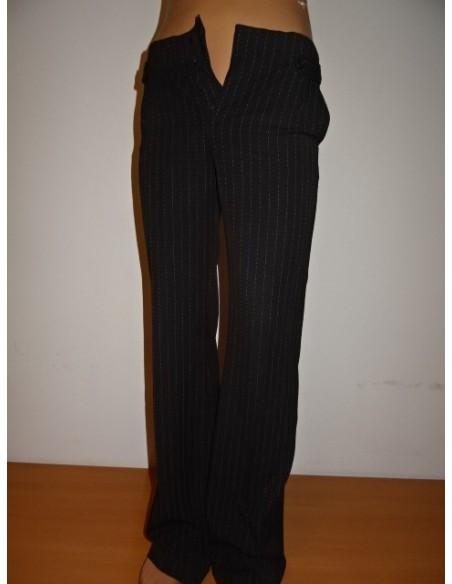 Pantaloni dama cu sclipici Mango