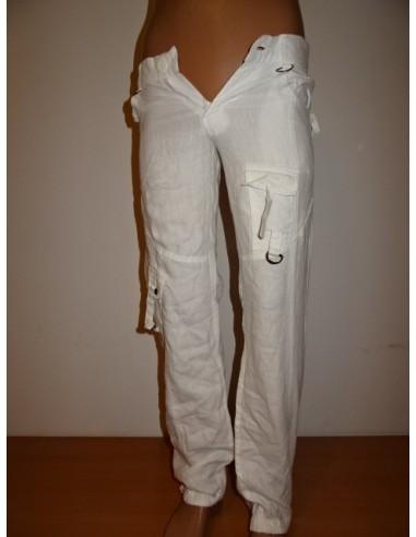Pantaloni dama TINAR cu buzunare, de vara