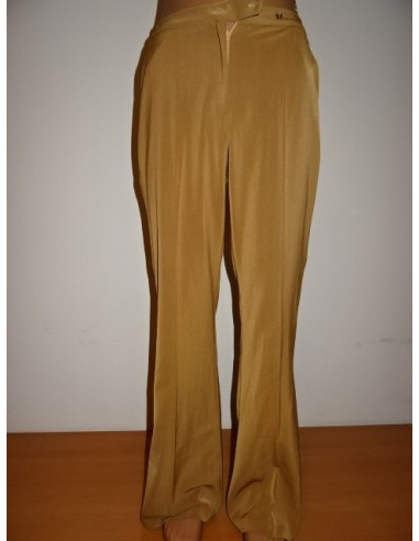 Pantaloni dama cu buzunare din poliester