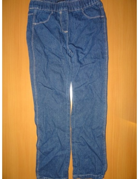Blugi cu elastic InExtenso albastri