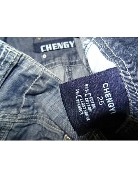 Pantaloni scurti dama din blug CHENGYI