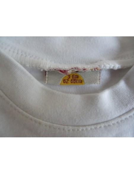 Bluza simpla alba cu maneca lunga unisex