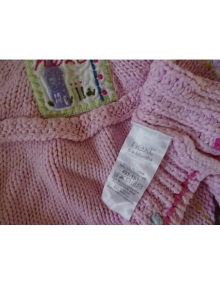 Pulover fetite roz NEXT