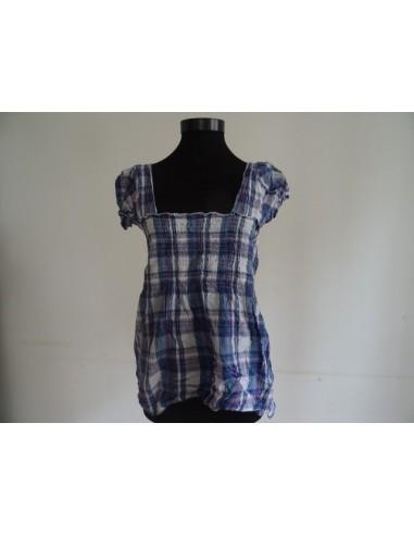 Bluza elastica in carouri