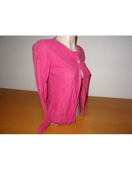 Cardigan LisaRose roz cu nasturi