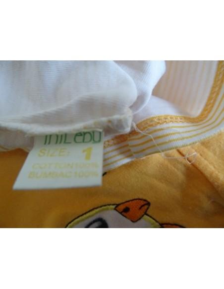 Compleu MiLeby sarafan cu bluza galben cu alb
