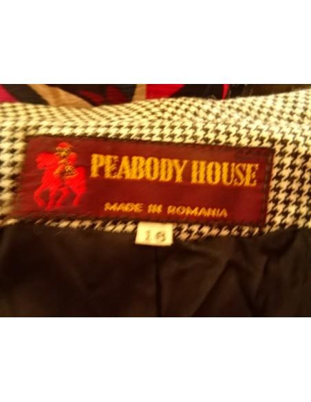 Sacou Peabody House carouri maro
