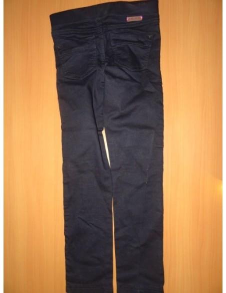 Pantaloni Okaidi negri lungi
