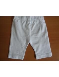 Pantaloni unisex albi pentru copii