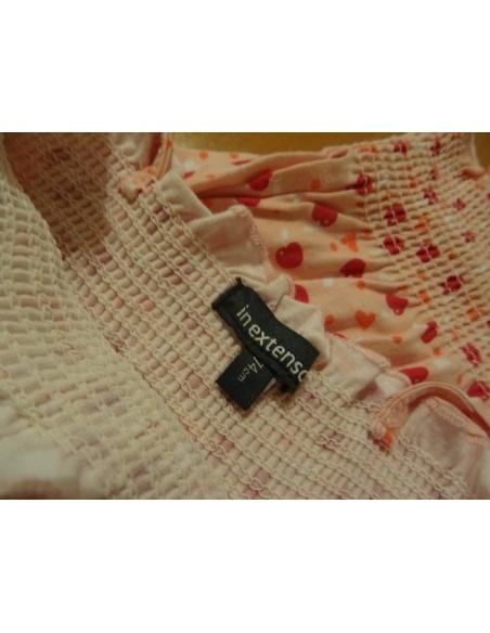 Set rochita si palarie InExtenso cu imprimeu de cirese 74 cm