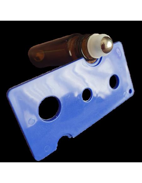 Deschizator roll-on uleiuri esentiale albastru