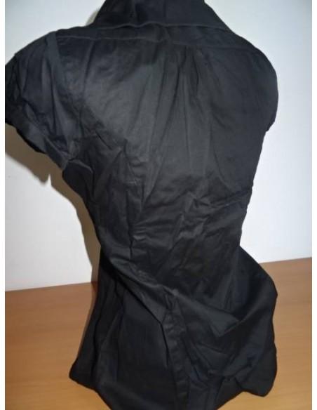 Camasa neagra Pimkie cu maneca scurta