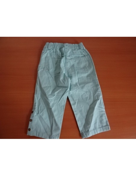 Pantaloni Flori Brodate