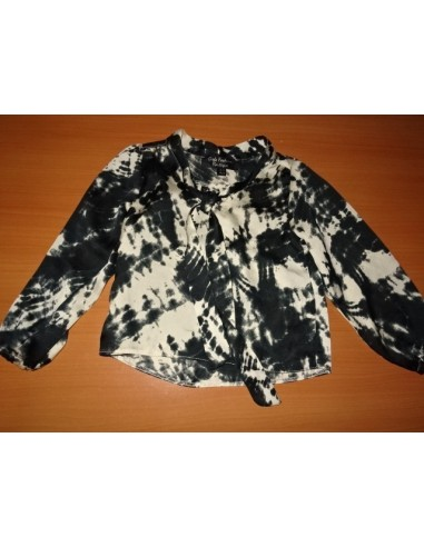 Bluza sidef negru GIRLS FASHION