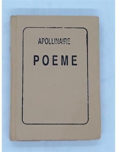 Carticica Poeme, Guillaume Apollinaire