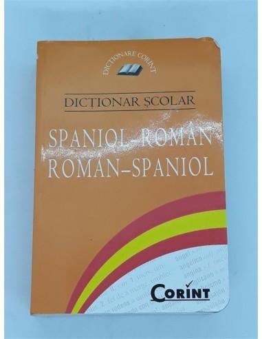 Dictionar scolar,  spaniol - roman,...
