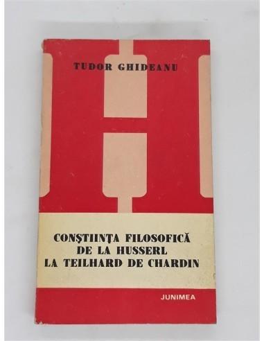 Constiinta filosofica de la Husserl...