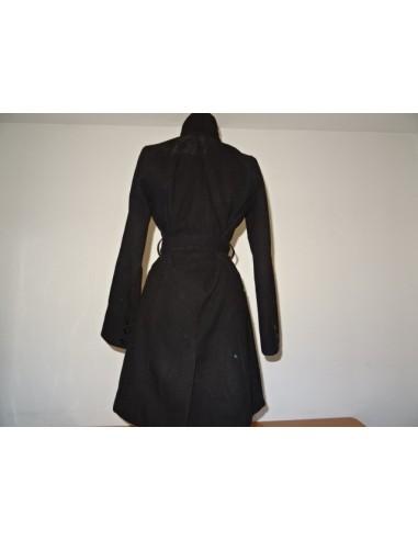 Palton elegant dama culoare negru H M