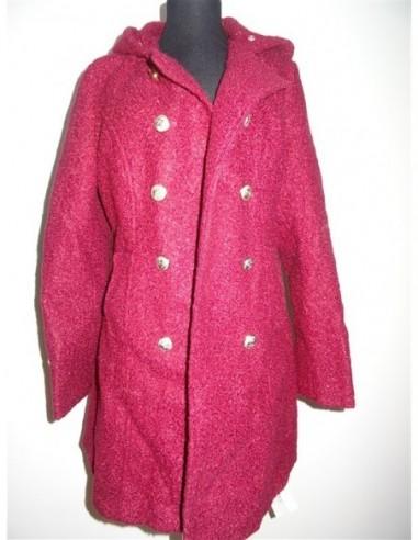 Palton rosu dama YouFaner