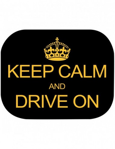 Set 2 parasolare Keep Calm and Drive...