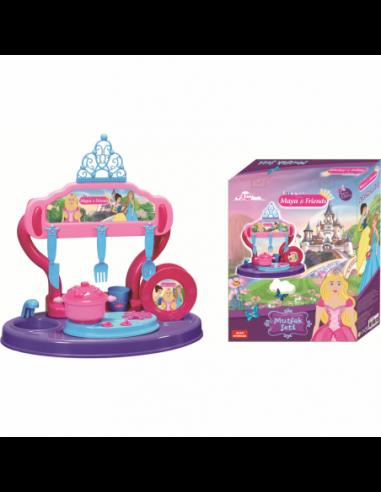 Bucatarie copii 15 piese Princess...