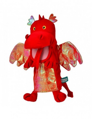 Marioneta de mana Dragonul Rosu...