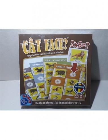 Joc copii matematical Cat face 3x6,...