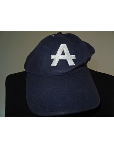 Sapca barbati albastra cu initiala A