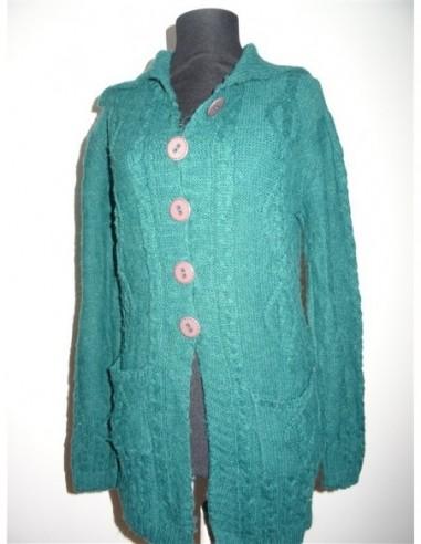 Pulover dama lung tricotat Generoso