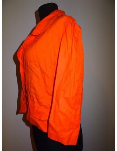 Sacou dama primavara portocaliu