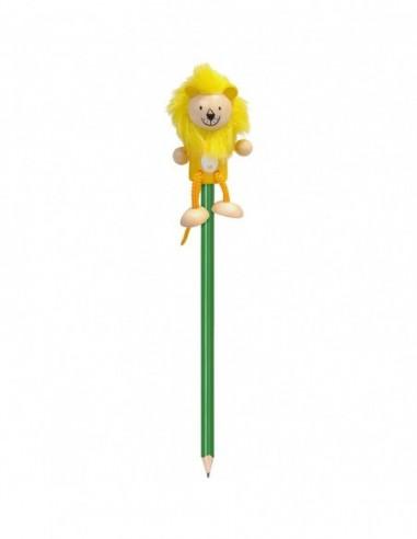 Creion cu figurina lemn Leu Fiesta...