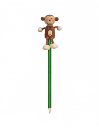 Creion cu figurina lemn Maimutica...