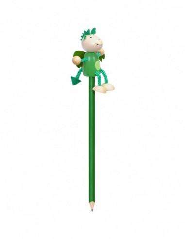 Creion cu figurina lemn Dragonul...