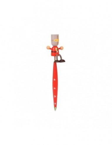 Pix lemn cu figurina Cavalerul Rosu...