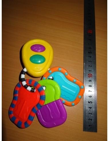 Chei de jucarie colorate pentru bebelusi