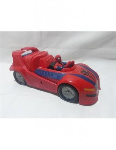Masinuta Spiderman de plastic pentru...