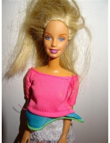 Papusa cu parul blond pentru fetite