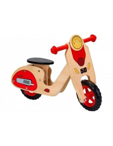 Bicicleta fara pedale din lemn Globo...