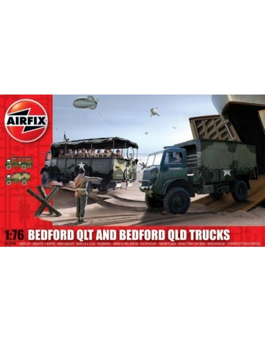 Airfix Bedford Qlt And Bedford Qld...