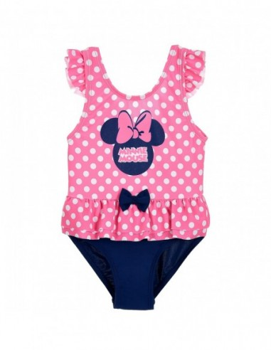 Costum baie cu volanase Minnie...
