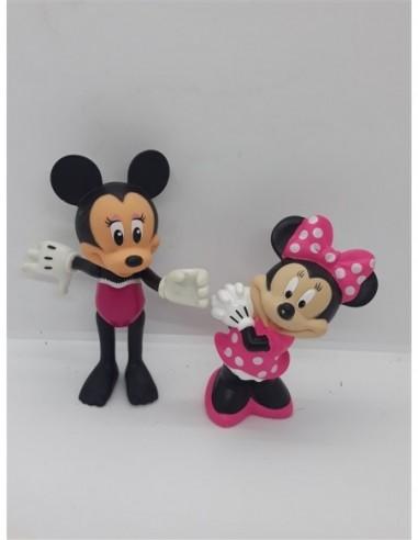 Set doua figurine Mickey si Minnie Mouse