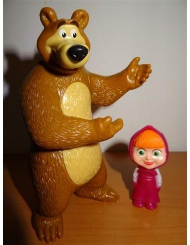 Set 2 figurine Masha si ursul